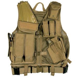Fox Outdoor MACH-1 Tactical Vest Coyote