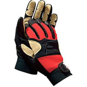 Ringers Gloves Rope Rescue Gloves Nylon Large Red
