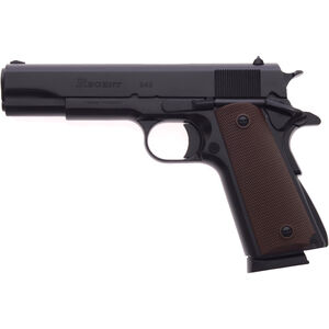 "Regent B45 .45 ACP 1911 Government Size Semi Auto Pistol 5"" Barrel 8 Rounds Black Cerakote"