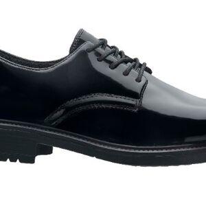 Original S.W.A.T. Dress Oxford Men's Shoe Size 8.5 Wide Clarino Synthetic Upper Black 118001W-85