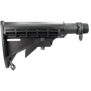 Yankee Hill Machine AR-15/M4 Collapsible Buttstock Assembly Complete Kit Matte Black Finish