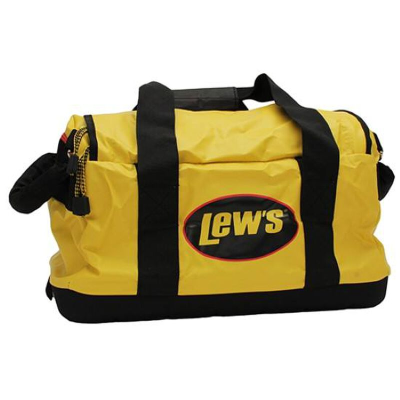 Lew's Speed Boat Bag PVC 18 Inches Black/Yellow BBL-Y-18
