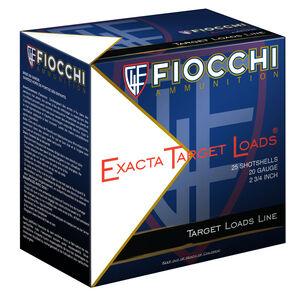 """Fiocchi Exacta VIP 28 Gauge Ammunition 2-3/4"""" #7.5 Shot 3/4oz Lead 1200fps"""