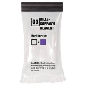 Sirchie NARK II Dille-Koppanyi Reagent (Barbiturates)
