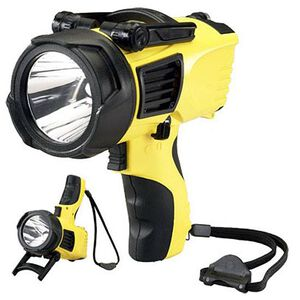 Streamlight Waypoint Pistol Grip Spotlight C4 LED 12V DC Power Cord Yellow Warranty