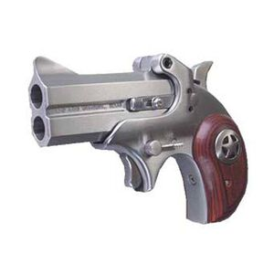 "Bond Arms Cowboy Defender Derringer Handgun .45 ACP 3"" Barrels 2 Rounds Rosewood Grip Satin Polish Stainless Steel Finish"