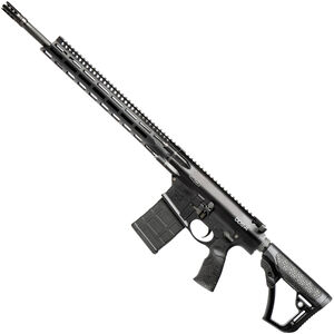 "Daniel Defense DD5v4 .308 Win AR Style Semi Auto Rifle 18"" Barrel 20 Rounds 15"" M-LOK Handguard Collapsible Stock Black"
