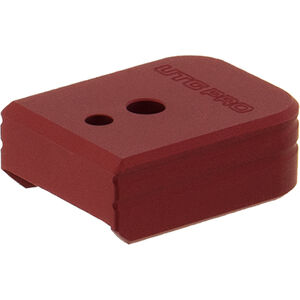 UTG PRO +0 Base Pad, S&W M&P 9/40, Matte Red Aluminum