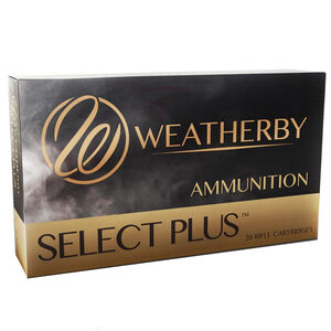 Weatherby Select Plus .416 Weatherby Magnum Ammunition 20 Rounds 400 Grain Hornady Round Nose Expanding 2700 fps