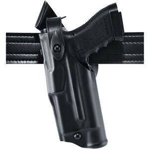 Safariland 6360 ALS/SLS Mid-Ride Duty Belt Holster Fits SIG P320 9/40 Left Hand SafariLaminate Basketweave Black