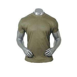 "Voodoo Short Sleeve ""T"" Shirt Polyester Microfiber Size Medium Olive Drab Green"