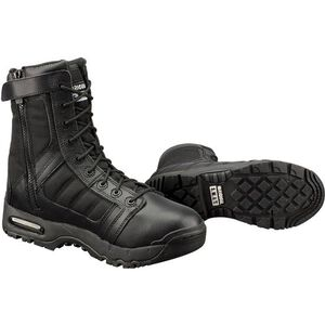 "S.W.A.T. Metro Air 9"" Men's Size 5.5R Leather/Nylon Black"