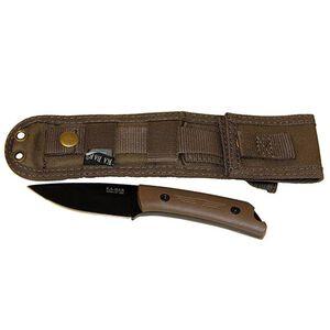 "KA-BAR Jarosz ""Globetrotter"" Fixed 3.5"" Plain Blade with Sheath 7502"