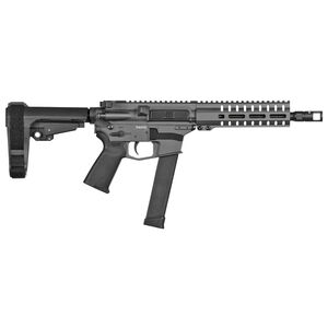 "CMMG Banshee 300 MK10 10mm Auto AR-15 Semi Auto Pistol 8"" Barrel 30 Rounds GLOCK Style Magazine RML7 Free Float M-LOK Hand Guard Cerakote Sniper Gray"