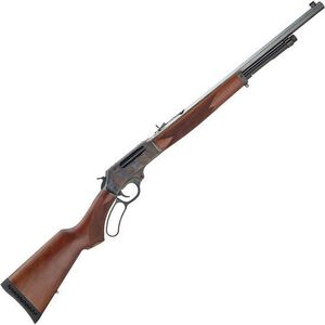 "Henry Color Case Hardened Edition Lever Action Rifle .45-70 Government 22"" Octagon Barrel 4 Rounds Colored Case Hardened Steel Receiver American Walnut Stock Blued Steel Barrel"