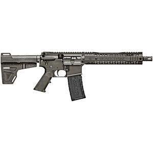 "Black Rain BRO SPEC15 Pistol .300 Blackout AR-15 Semi Auto Pistol 10.5"" Barrel 30 Rounds M-LOK Hybrid Handguard Shockwave Blade Pistol Brace Black"