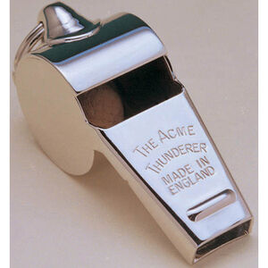 ACME Thunderer Whistle Very High Volume Easy Blowrate Nickel 60.5NP