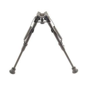 "Harris Ultra-light Bipod 1A2-L Sling Swivel Stud Mount 9"" to 13"" Telescoping/Folding Legs Aluminum Matte Black"