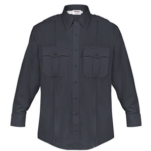 Elbeco DutyMaxx Men's Shirt Long Sleeve Polyester Rayon 17x34 Midnight Navy