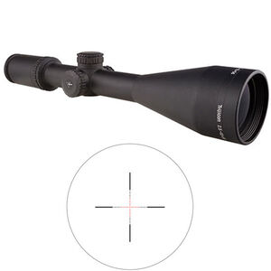 Trijicon AccuPower Rifle Scope 2.5-10x56 Illuminated Red Mil-Square Crosshair Reticle Battery Matte Finish 1900016