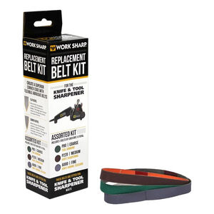 Work Sharp Assorted Replacement Belt Kit