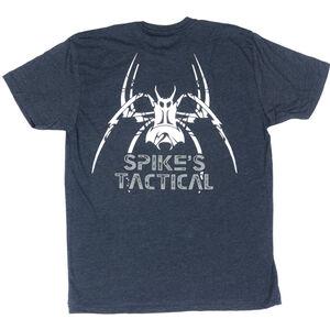 Spike's Tactical Men's Tactical Spider Short Sleeve T-Shirt XL Navy