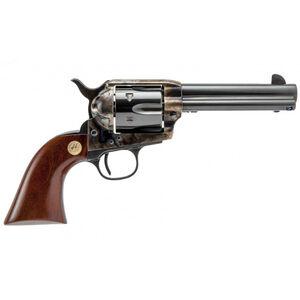 "Cimarron P-Model 1873 Revolver 45 LC/45 ACP Dual Cylinder 4.75"" Barrel 6 Rounds Walnut Grips Color Case Hardened Frame Blued"