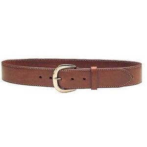 "Galco Gunleather SB2 Sport Belt 1.5"" Wide Brass Buckle Leather Size 38 Havana Brown"