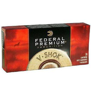 Federal V-Shok .243 Win 55 Grain Nosler BP 20 Round Box