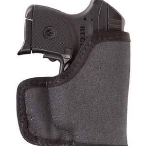 TUFF Jr. Roo Pocket Holster Size 43 Ambidextrous Nylon Black 5075-TTA-43
