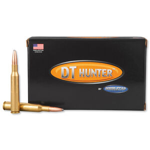 DoubleTap .270 Winchester Ammunition 20 Rounds Nosler Partition 160 Grains 270W160P