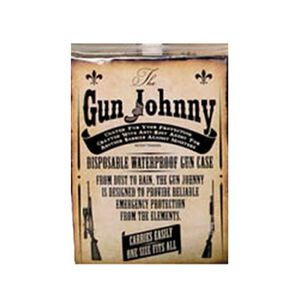 The Gun Johnny Waterproof Transport Bag VCI Rust Protection Black Plastic GJ262