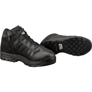 "Original S.W.A.T. Metro Air 5"" Side Zip Men's Boot Size 7 Regular Non-Marking Sole Leather/Nylon Black 123101-7"