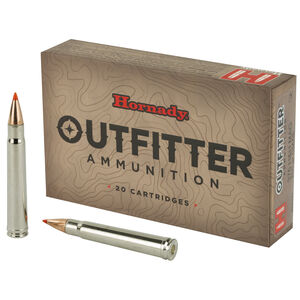 Hornady Outfitter .375 H&H Magnum Ammunition 20 Rounds 250 Grain GMX Projectile 2700 fps