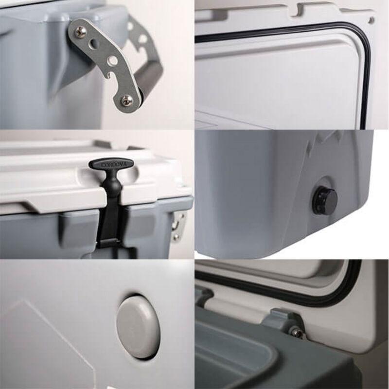 Cordova 125 XLarge Cooler, 128 Quarts, White