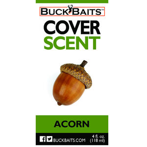 Buck Baits Acorn Cover Scent. 4 oz (118 g) Bottle
