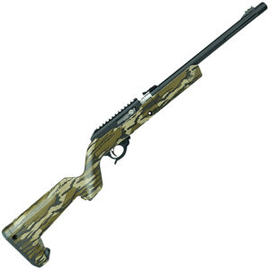 "Tactical Solutions X-Ring Takedown Semi Auto Rimfire Rifle .22 LR 16.5"" Threaded Barrel 10 Rounds MO Bottomland Camo Magpul Backpacker Stock Black Finish"