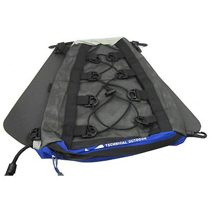 Chinook AquaWave 20 Kayak Deck Bag 1220 cu in Nylon Blue 33511