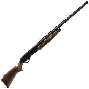 "Winchester SXP Compact Trap Pump Action Shotgun 12 Gauge 28"" Barrel 3"" Chamber 3 Rounds TruGlo Fiber Front Sight Walnut Stock Satin Finish Aluminum Receiver Matte Black 512297392"