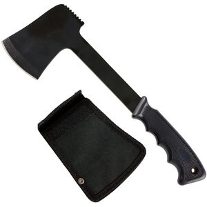 """Red Rock Outdoors Camper Pack Axe 2.75"""" Blade Black Stainless Steel Synthetic Handle Belt Sheath"""