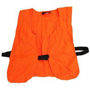 Frogg Toggs Hunters Safety Vest Lightweight Knit One Size Blaze Orange PV109
