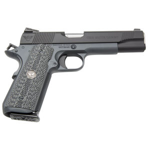 "Wilson Combat CQB Elite Carry Semi Automatic Handgun 9mm Luger 5"" Barrel 10 Rounds G10 Grips Gray Finish"