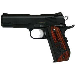 "Dan Wesson Guardian Semi-Auto Handgun .45 ACP 4.25"" Barrel 8 Rounds Novak Low Mount Style Night Sights Wood Grips 01987"
