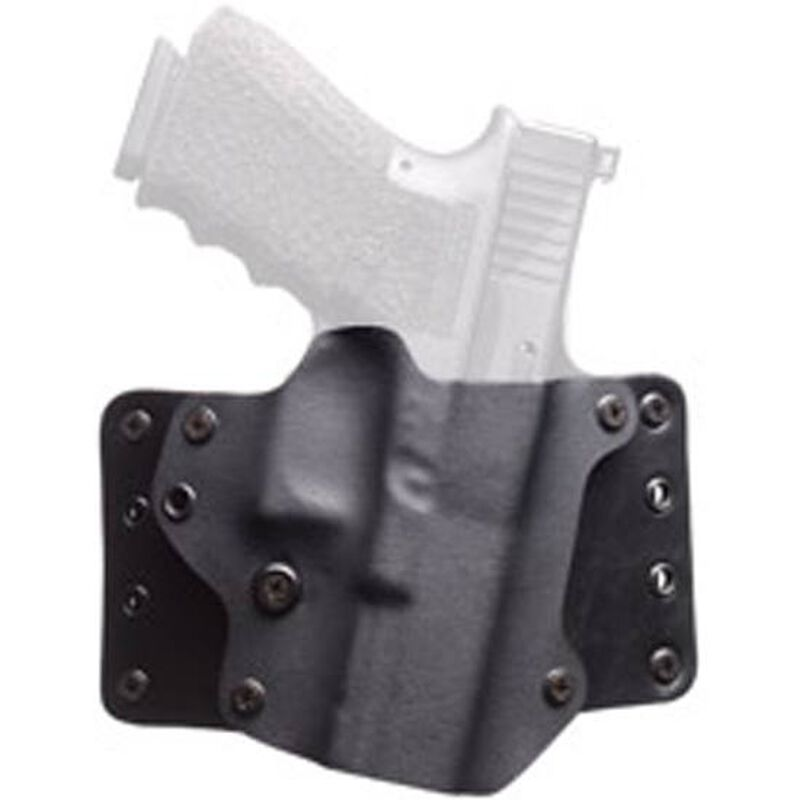 Blackpoint Tactical Leather Wing Belt Holster Springfield XDS Right Hand Kydex/Leather Black 100084