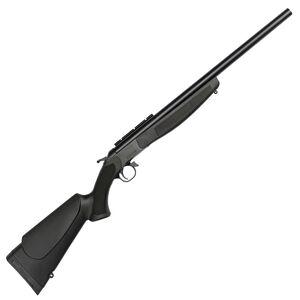"CVA Hunter Compact Single Shot Break Action Rifle .243 Winchester 20"" Barrel DuraSight Scope Rail Mount CrushZone Recoil Pad Synthetic Forend/Stock Matte Black Finish"