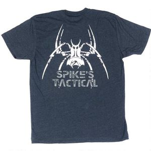 Spike's Tactical Men's Tactical Spider Short Sleeve T-Shirt Large Navy