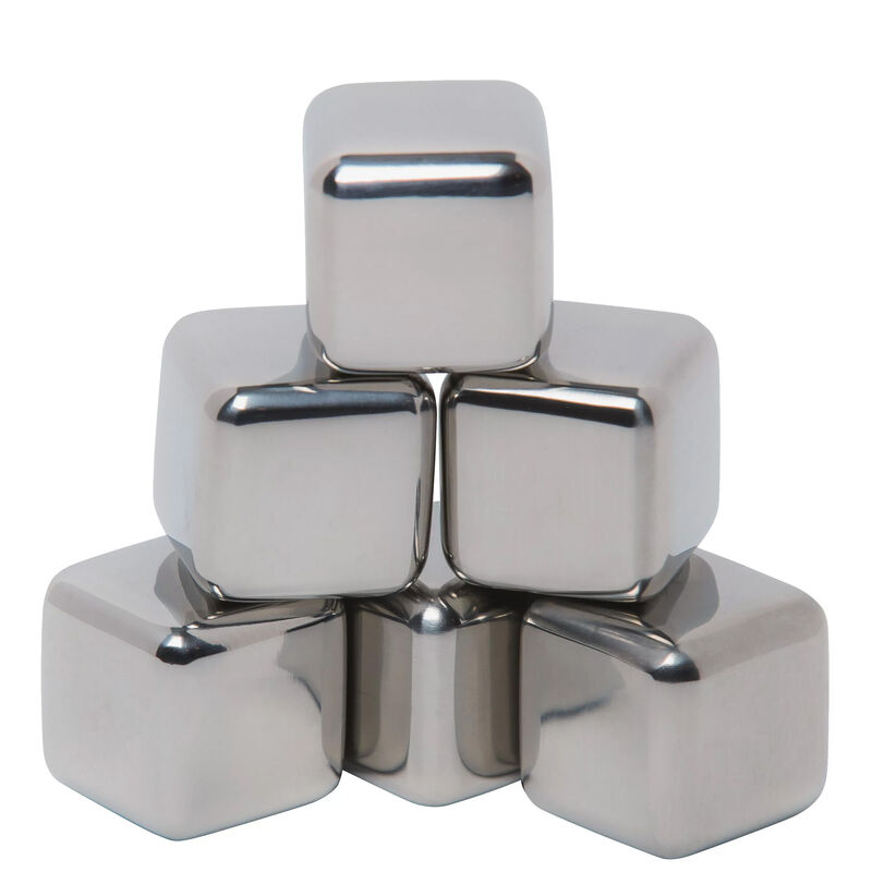 Mammoth Coolers Ice Bergs Thermal Gel Stainless Steel 6 Pack