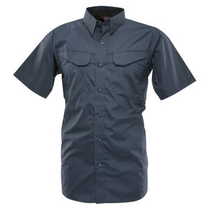 Tru-Spec 24-7 Series Ultralight Field Shirt Short Sleeve Polyester Cotton Ripstop XL Navy 1093006
