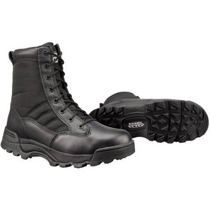 "Original S.W.A.T. Classic 9"" Men's Boot Size 8.5 Regular Non-Marking Sole Leather/Nylon Black 115001-85"
