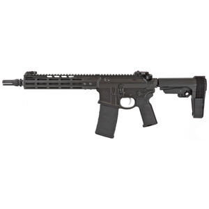 "Noveske Gen 4 Lightweight Shorty AR-15 5.56 NATO Semi Auto Pistol 10.5"" Barrel 30 Rounds NSR Free Float M-LOK Hand Guard SBA3 Stabilizing Brace Matte Black"